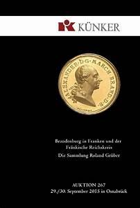 Fritz Und Franken : k nker auktion 267 brandenburg in franken und der fr nkische reichskreis sammlung roland ~ Yasmunasinghe.com Haus und Dekorationen