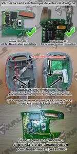 Clé Clio 2 : desactiver anti demarrage renault kangoo 1996 2002 ~ Dode.kayakingforconservation.com Idées de Décoration
