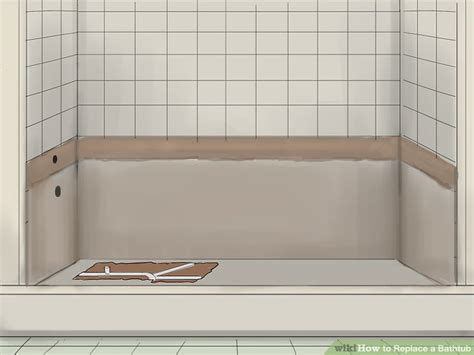 tile saw how to replace a bathtub 11 steps with pictures wikihow