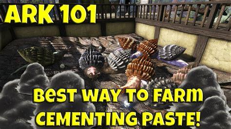 paste cementing ark farm