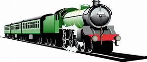 Logo clipart train - Pencil and in color logo clipart train
