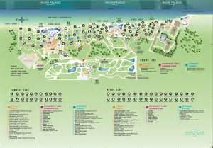 Moon Palace Grand Cancun Resort Map
