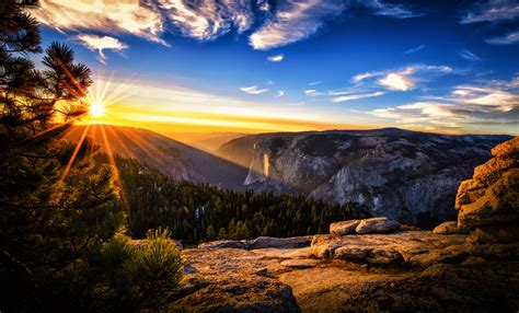 Beautiful Sunset Landscape Wallpaper High Quality Hd 16743