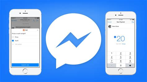 messenger gets new chat assist features for polls and payments
