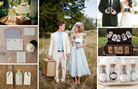 Top 10 Fun Ideas For Vintage Theme Wedding