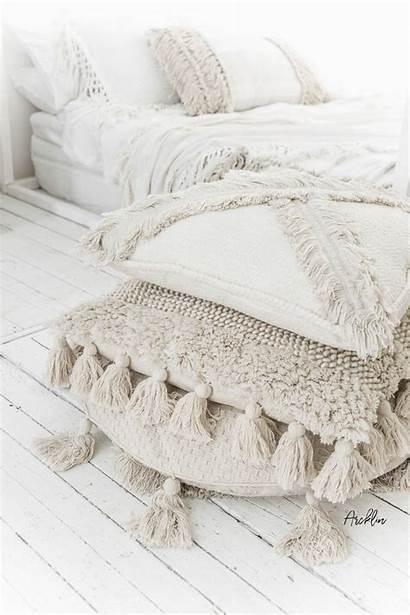 Pillow Pillows Textured Throw Decor Floor Boho