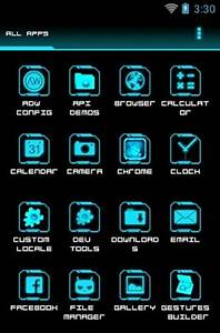 Legacy Neon Android Theme For ADW Launcher