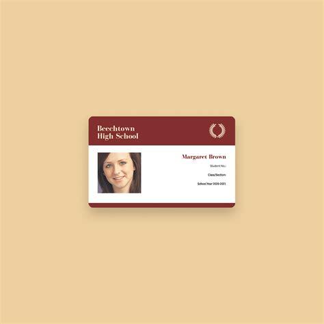 membuat desain id card keren secara  canva