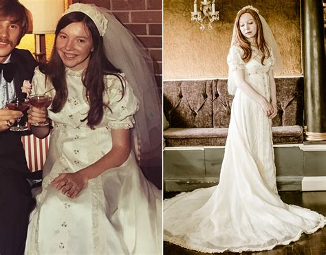 Bride Wears 4 Generations Of Wedding Gowns