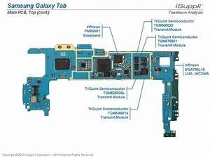 Samsung Galaxy Tab Carries  205 Bill Of Materials  Isuppli