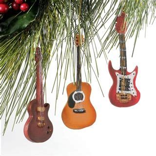 guitar ornaments for christmas tree 34 best images about musical on trees sheet and