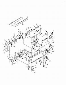 Craftsman Model 351221060 Lathe Genuine Parts