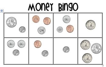 money bingo coin combinations  primary plans
