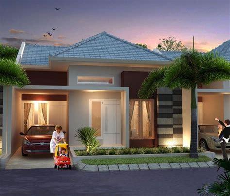 model gambar rumah minimalis type 45 2 denah rumah