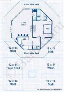 barn plans 4 stall horse barn living quarters design
