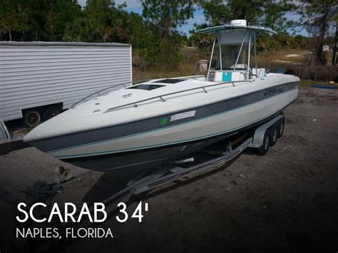 Houseboats For Sale Naples Florida by For Sale Used 1987 Scarab 34 Sport In Naples