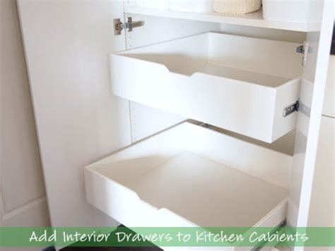 ikea kitchen sink how to add interior drawers to kitchen cabinets drawers 1795