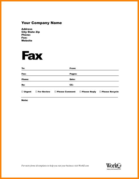 7 free fax cover sheet to print hostess resume