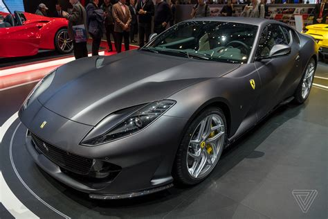 Ferrari 812 Superfast Lives Up To Its Name The Verge