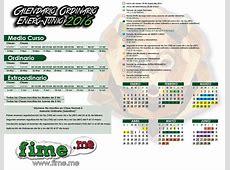 Calendario Fime 2016 Calendar Template 2018