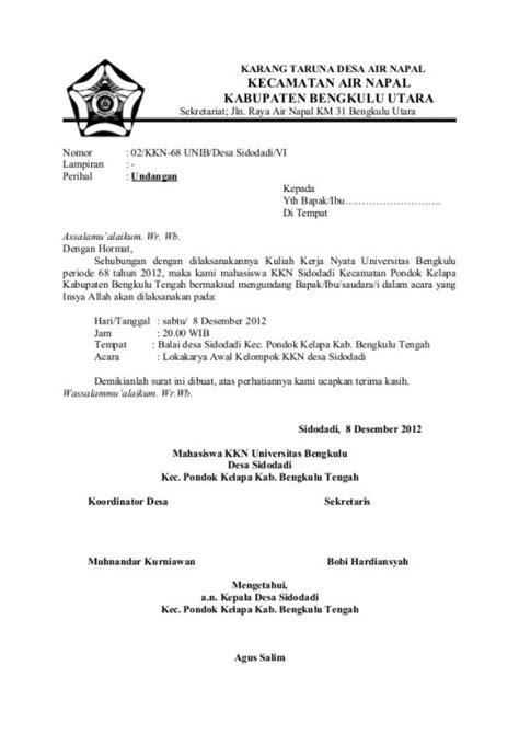 Contoh Undangan Resmi Karyawan by Contoh Surat Panggilan Karyawan Tidak Masuk Kerja Contoh