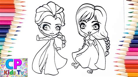 frozen coloring pages  kids elsa anna  frozen