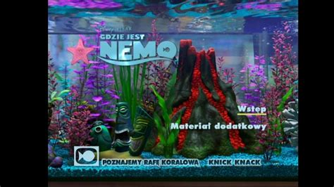 Finding Nemo Dvd Menu S Pictures To Pin On Pinterest