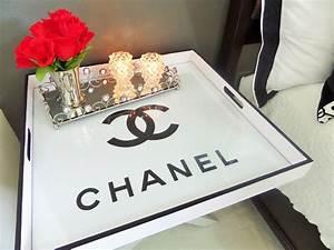 Flea Market Flip: Butler's Tray Table Turned Chanel