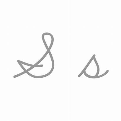Cursiva Cursive Letra Capital Manuscrita Script Hace