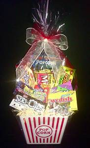 Raffle Tickets Cheap Movie Lovers Basket W Amc Gift Card By Wrapped A La Mode