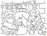 Christmas Coloring Supercoloring Contest Sprinkler sketch template