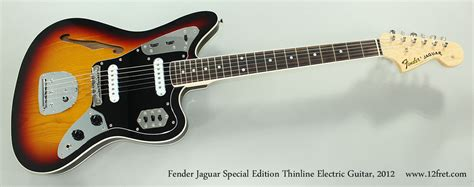 Fender Thinline Jaguar by 2012 Fender Jaguar Special Edition Thinline Sold Www