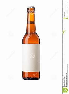 Beer bottle with blank label stock photo image 19479348 for Blank beer labels