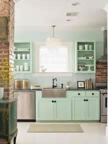 küche mintgrün mintgrün küche wohnideen einrichten