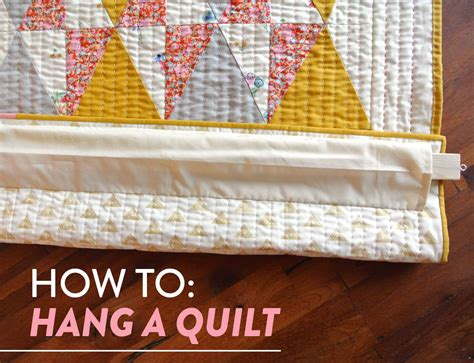 how to hang quilt on wall how to hang a quilt suzy quilts
