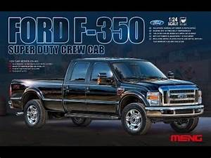 Ford F-350 Model Kit By Meng -- Review From Megahobby Com
