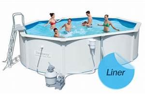 Liner Piscine Hors Sol Ovale : elegant liner piscine horssol compatible bestway hydrium ~ Dode.kayakingforconservation.com Idées de Décoration