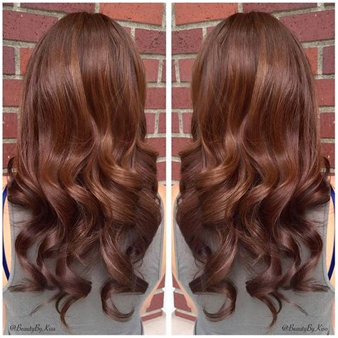 Chestnut Brown Hair Color by Warm Chestnut Brown Hair Color A Thing Of