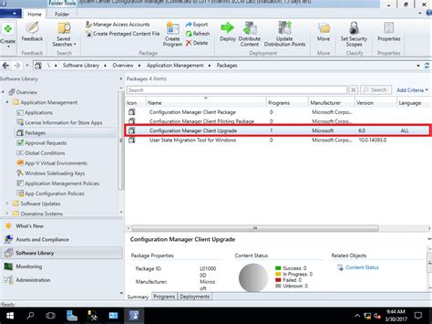 configuration bureau guide prepare configuration manager client package for osd
