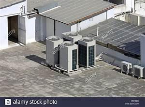 Klimaanlage Mit Solar : klimaanlage au eneinheit mit ventilatoren auf dem dach ~ Kayakingforconservation.com Haus und Dekorationen