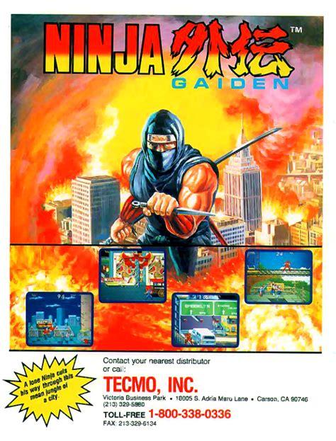 Play Ninja Gaiden Shadow Warriors Coin Op Arcade Online