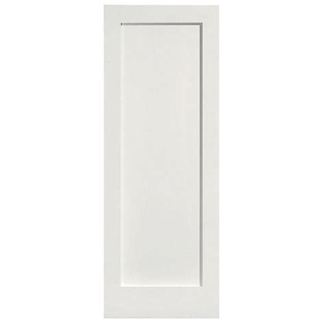 prehung interior doors home depot masonite 32 in x 80 in mdf series smooth 1 panel solid