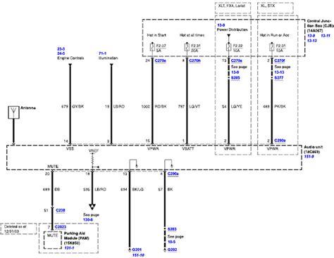 wiring dia 04 ford pu yl3f 18c869 ab