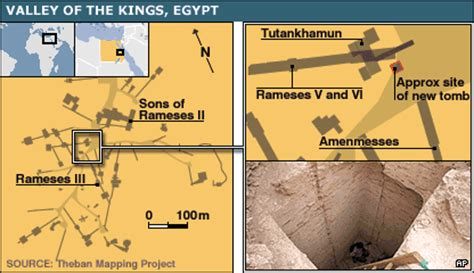 where was king tut's tomb located