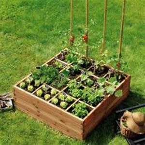 Faire Un Petit Potager En Carré : le jardin en mode urbain blog ma maison mon jardin ~ Melissatoandfro.com Idées de Décoration