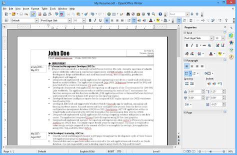 Open Office Word Processor