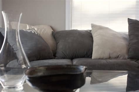clean faux suede furniture hunker