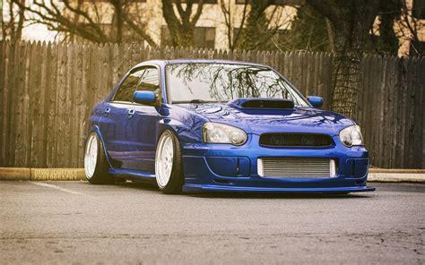 Blue Subaru Wallpaper by Subaru Impreza Wrx Sti Blue Rear Car Wallpaper 1680x1050