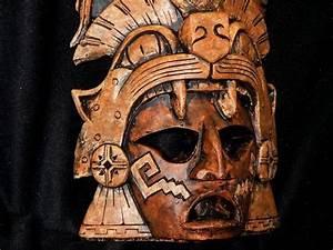 Aztec Warrior pottery Mask | Aztec | Pinterest | Aztec ...