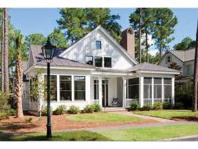 Simple Country Style House Placement by Eplans Low Country House Plan 2883 Square And 4